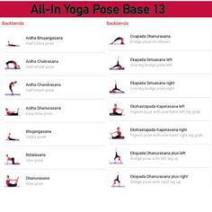 All-in Yoga pose base page 13