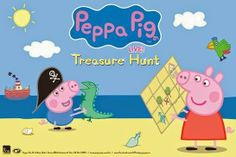 After a smash hit season on London's West End and at capital city theatres around Australia, this delightful puppet show is embarking on an extensive tour of Australia in 2014.   Join Peppa Pig and her brother George as they set off on a treasure hunt! http://webapps.townsville.qld.gov.au/calendar/searchresult.asp?keyword=TicketShop&StartDate=Today&idx=yes#16972