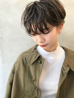 Smokey's recommended baked color hair color cover for fall / winter Cut Her Hair, Love Hair, Hair Cuts, Shot Hair Styles, Curly Hair Styles, Pelo Ulzzang, Hair Inspiration, Hair Inspo, My New Haircut