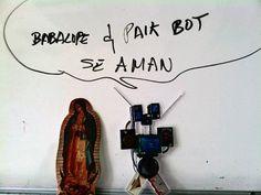 @PaikBot ya se encontró novia en FES Aragón-UNAM. @Hermanita_