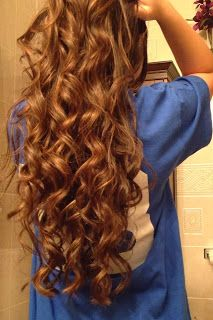 Awesome Beautiful Long Curls, I Want My Hair To Get This Long.