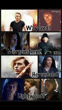 He is a Herondale. There is no doubt about that. He is a descent if Will and Tessa Herondale.