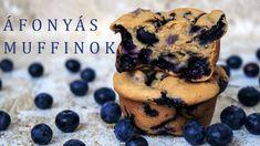 Vegán áfonyás muffinok | Good after Food - YouTube