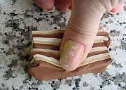 Polymer Clay Central - Marie Segal's Faux Wood 1