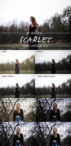 Scarlet |Moody| LR Preset. Actions. $9.00