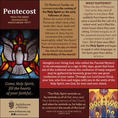 pentecost sunday object lesson