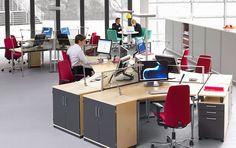 Werkplekken - Kinnarps - Serie E - 5000 - Rezon