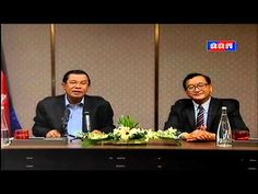 Khmer Hot News | P.M. Hun Sen and Sam Rainsy Meet with Khmer People in M...