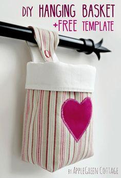 Friday Spotlight: Damjana's Lovely Hanging Basket! — SewCanShe | Free Sewing Patterns for Beginners