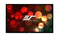 """Elite Screens R165WH1 ezFrame Fixed Projection Screen (165"""" 16:9 AR)(CineWhite) by Elite Screens. $1123.96. From the Manufacturer                                                Infinite applications  Tab-Tensioned  Gather and Enjoy!  Flattened Frame The Elite Screens ezFrame series of fixed-frame projector screen creates a true home theater experience for your dedicated theater or media room. Our low profile fixed-frame screens are mounted flush against the wall like ..."""
