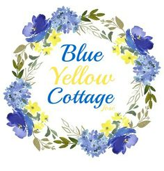 Yellow Cottage, Blue Magic, Cottage Style, Blue Yellow, Story Starters, Pinterest Board, Cottages, Light Blue, Forget