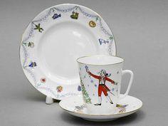 Lomonosov Porcelain Ballet Nutcracker 3pc