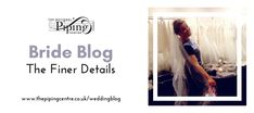 Bride Blog: The Finer Details - The National Piping Centre