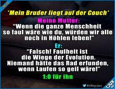 Irgendwie hat er ja recht #gutgekontert #lustig #Humor #Spruch #witzig #lachen #Memes
