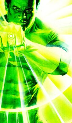 Green Lantern John Stewart by Alex Ross