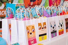 Paw Patrol Favor Bags from a Paw Patrol Inspired Puppy Party on Kara's Party Ideas | KarasPartyIdeas.com (19)
