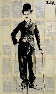 "Saatchi Online Artist Loui Jover; Drawing, ""charlie"" #art"