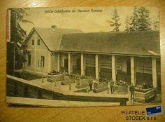 Komotau Vojenská pohlednice