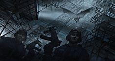 the dark knight concept art - Google Search