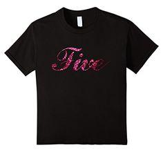 Kids Kids Girls 5th Birthday Party Shirt 5 year old FIVE ... https://www.amazon.com/dp/B01LXRNSW7/ref=cm_sw_r_pi_dp_x_NjO9xbY2YJ7RH