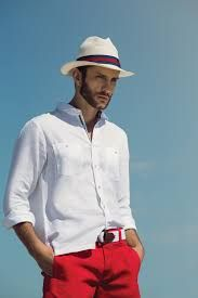 The best luxury brands, clothing, accessories and many more you can buy online Trendy Mens Fashion, Male Fashion Trends, Summer Outfits Men, Short Outfits, Beach Outfits, Mens Colored Pants, Poses For Men, Summer Hats, Men Looks