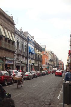 Streets of Puebla - Mexico City....Such a colorful and inspirational city!  Would love to go back!