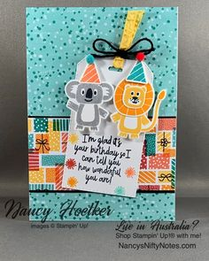 13 Tips to Make Your Bathroom Sparkle . Kids Birthday Cards, It's Your Birthday, Happy Birthday, Paper Gifts, Paper Cards, Kids Cards, Fun Cards, Stampin Up Cards, Making Ideas