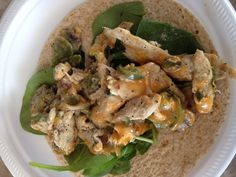 We love fajitas, and the Italian dressing had a really nice, light, flavor. We used corn tortillas to be gluten free, but I prefer them anyway since they have a much stronger flavor than just plain whole wheat. Easy, healthy meal -- We'll make this again. (Italian chicken fajita wraps) ekw