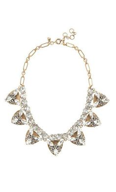 Jeweled triangle necklace - A Very Secret Pinterest Sale: 25% off any order at jcrew for 48 hours with code SECRET