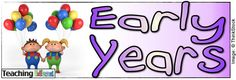 Early Years -- Lots of great ideas Early Years Teaching, Early Years Classroom, Teaching Numbers, Teaching Art, Teaching Ideas, English Lessons, Early Childhood, Little Ones, Literacy