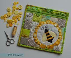 HONEY BEE QUILT              PC.......................Pat Sloan Bumble Bee
