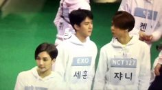 ISAC 2017 EXO SEHUN MISTAKED SEVENTEEN'S JEONGHAN FOR JOHNNY -- I'm laughing so hard XD