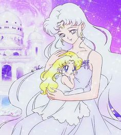 Queen serenity and princess serenity
