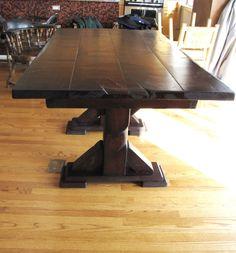 Cool custom barn wood table