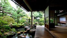 濡れ縁と庭園 | 武家屋敷跡 野村家 ~加賀藩千二百石~ | 公式サイト