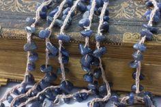 Stone Chip Wrap Bracelet Boho Necklace   Bead by beadedwire