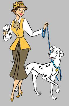 101 Dalmatians, Anita and Perdita Disney Magic, Disney Amor, Disney Nerd, Arte Disney, Disney Fan Art, Disney Princess, Disney Animated Movies, Disney Movies, Disney And Dreamworks