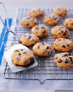 Μαλακά+cookies+με+σταγόνες+σοκολάτας