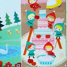 しゅっせきのーと来年度はおとぎ話(^.^)ナカナカかわいく出来ました。 #イラスト #おとぎ話 #fantasy #kawaii #illustration…