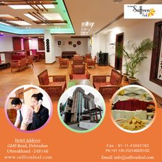 Great amenities with luxurious facilities #Hotelsaffronleaf  Visit Us at: www.saffronleaf.com Or Contact Us at: 091135-2521400/01/02