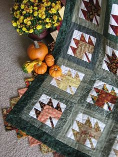 Free Quilt Pattern: Scattered Leaves - I Sew Free