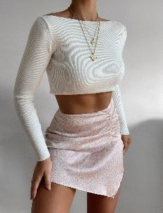 2000s Fashion, Fall Fashion Outfits, Mode Outfits, Girly Outfits, Cute Casual Outfits, Skirt Outfits, Look Fashion, Chic Outfits, Spring Outfits