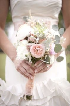 beautiful, bouquet, and flores imageの画像