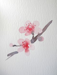 Watercolor Flowers -