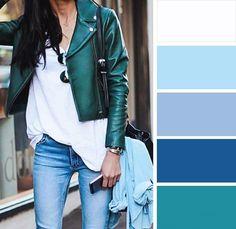 Сочетание цветов в одежде | Записки о стиле | Яндекс Дзен
