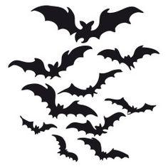 Fledermäuse, Halloween, Schneidedatei, kostenlos                                                                                                                                                     More