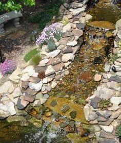 DIY Backyard Waterfall & Pond - All Things Heart and Home