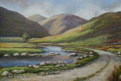"Artist: Ria Winters, Nature Art  ""South of Mayo, Ireland"""