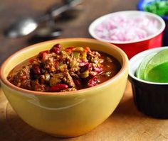 Recipe for Deep, Dark and Stout Chili. Heart healthy chili that uses dark beer. Diabetic Gourmet Magazine - Diabetic Recipe DiabeticGourmet.com