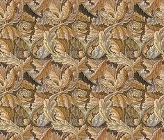 Victorian organic fabric by unseen_gallery_fabrics on Spoonflower - custom fabric